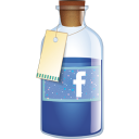FaceBook botton icon.